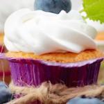 Простой рецепт кексов в силиконовых формочках