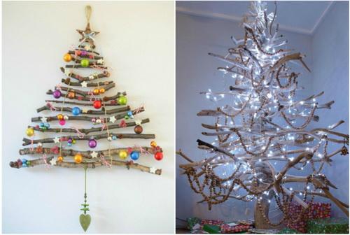 новогодние елки своими руками из разных материалов картинки