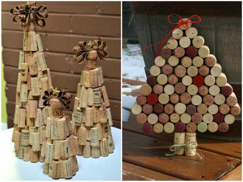 поделки елка своими руками из разных материалов