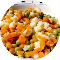 что входит в салат оливье