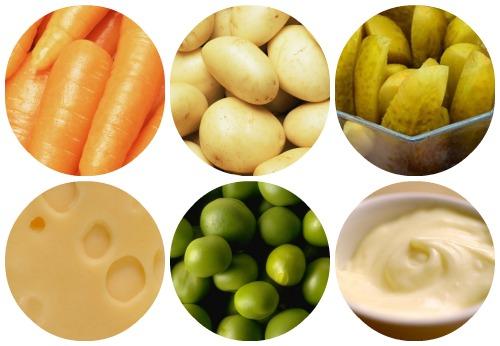 Оливье: вегетарианский рецепт фото