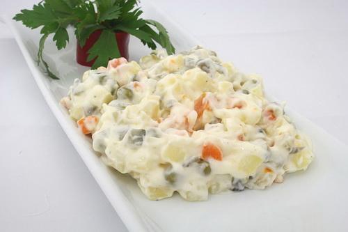 Салат оливье: рецепт классический с колбасой