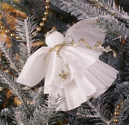 Ангел на Рождество своими руками