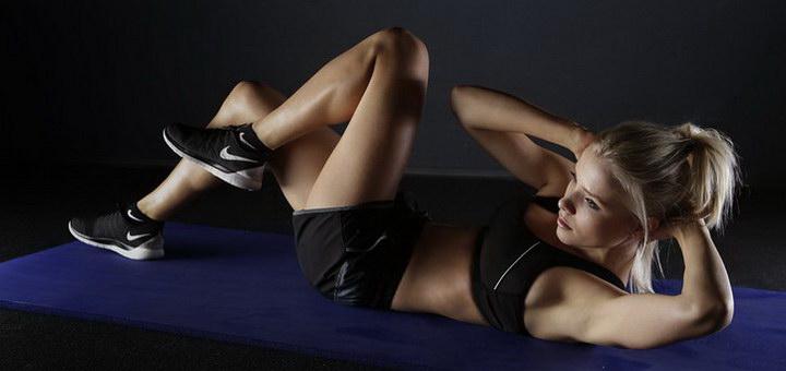 зарядка для похудения живота и боков