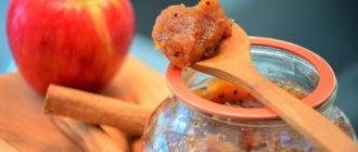 повидло из яблок в домашних условиях простой рецепт на зиму