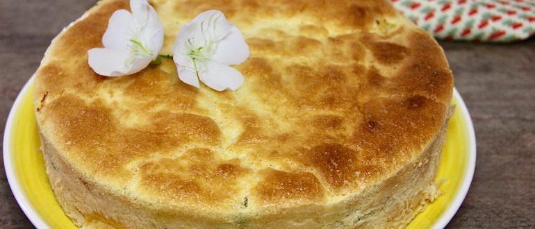 шарлотка с капустой и сыром