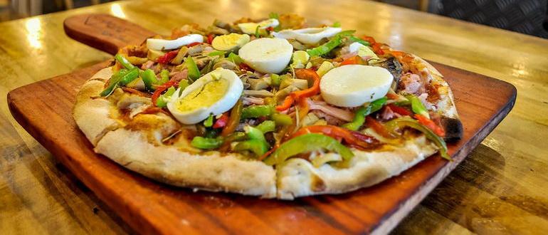 тесто для пиццы как в пиццерии рецепт с фото пошагово