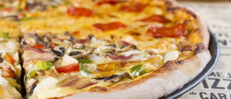 как испечь пиццу в духовке и в домашних условиях