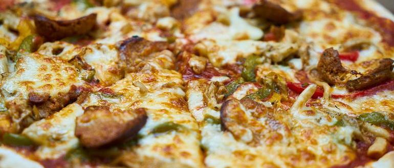 пицца в мультиварке на слоеном тесте