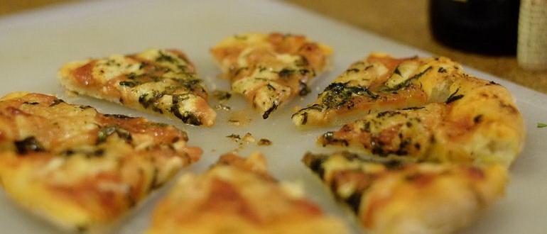 бездрожжевая пицца