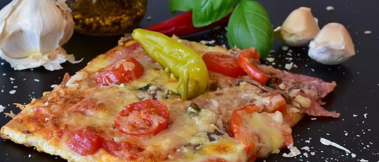 самое быстрое тесто для пиццы