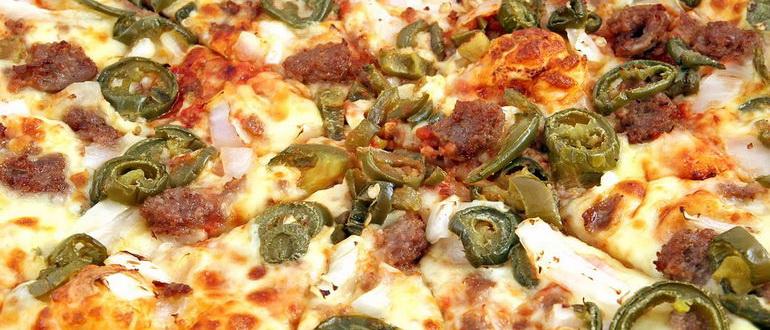 пицца из жидкого теста