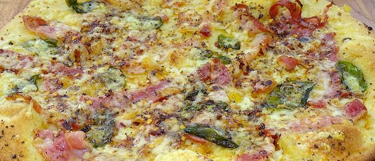 пицца на дранике