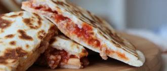 закрытая пицца рецепт в домашних условиях в духовке