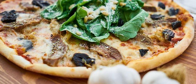 рецепт пиццы на йогурте