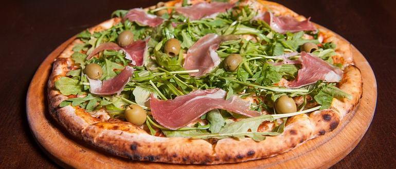 Слоеное тесто - рецепт пиццы